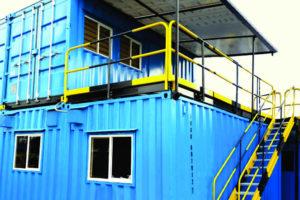 Arquitectura modular contenedores de 2 pisos KNO