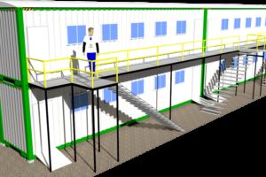 Arquitectura modular render KNO
