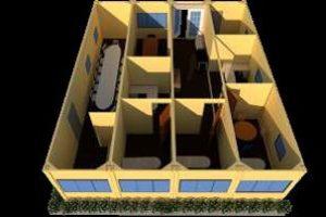 Arquitectura modular de residencia KNO