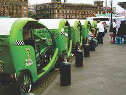 Bici taxi KNO