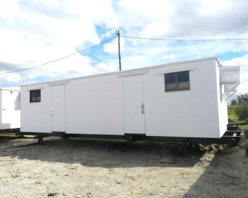 Diseño de Caseta Campamento Sobre Skid