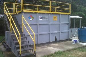 Planta de tratamiento de agua residual KNO