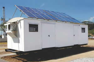 Unidad alimentada por energía solar fotovoltáica KNO